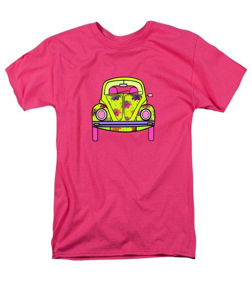 Flowers On Wheels Men's T-Shirt  (Regular Fit)