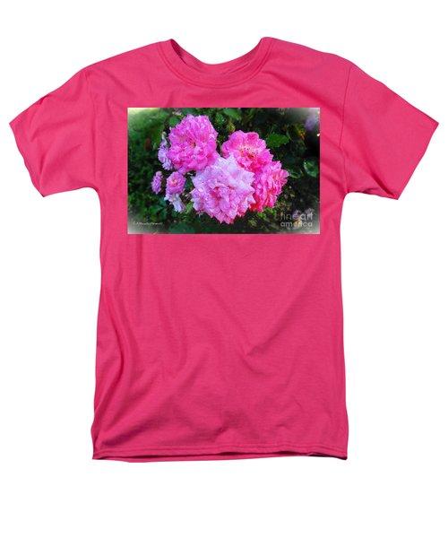 Frank's Roses Men's T-Shirt  (Regular Fit) by MaryLee Parker