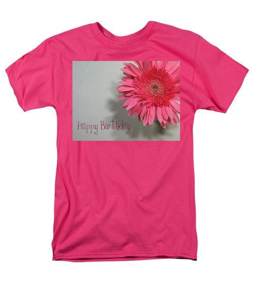 Happy Birthday Men's T-Shirt  (Regular Fit) by Marna Edwards Flavell