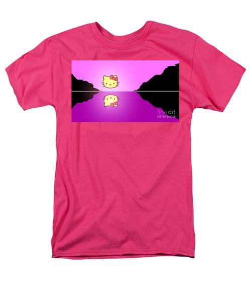 Hello Kitty Sunrise Men's T-Shirt  (Regular Fit) by George Pedro