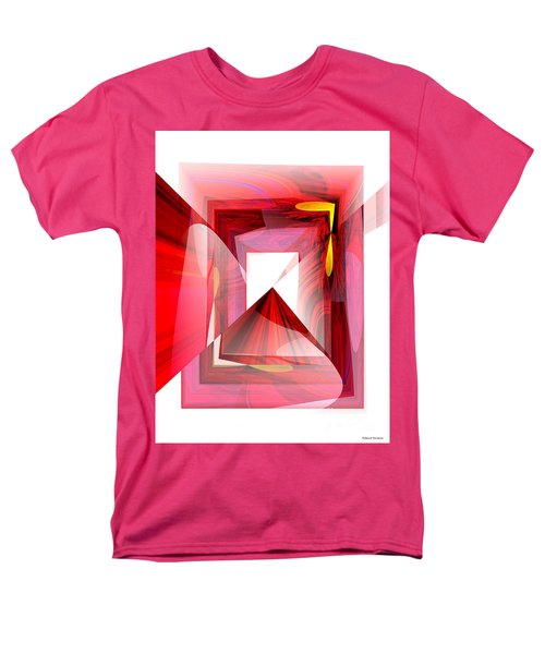 Infinity Tunnel  Men's T-Shirt  (Regular Fit) by Thibault Toussaint