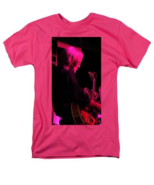 Men's T-Shirt  (Regular Fit) featuring the photograph Jazz Guitarist by Lori Seaman