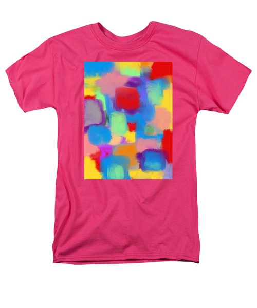 Juicy Shapes And Colors Men's T-Shirt  (Regular Fit) by Susan Stone