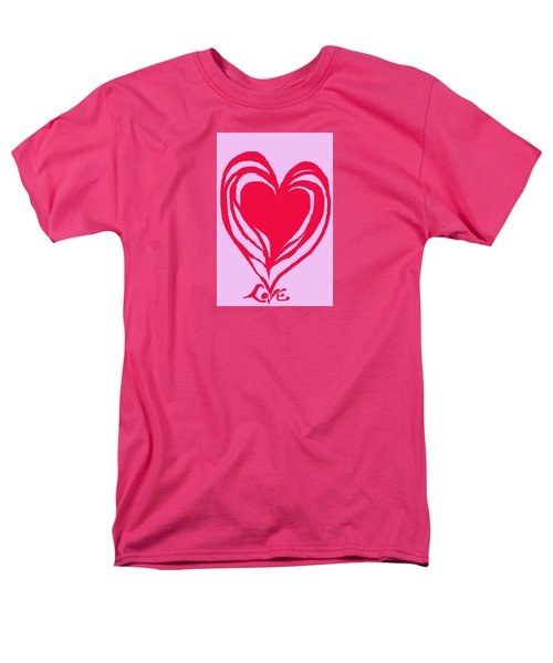 Love Men's T-Shirt  (Regular Fit) by Mary Armstrong