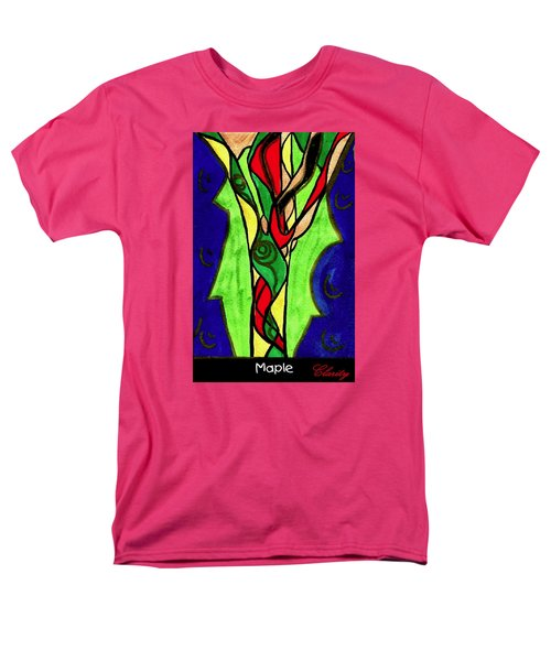 Men's T-Shirt  (Regular Fit) featuring the painting Maple by Clarity Artists