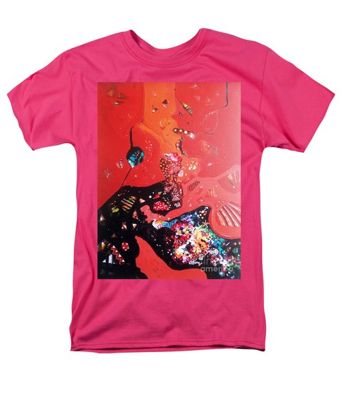 meditation I Men's T-Shirt  (Regular Fit) by Sanjay Punekar