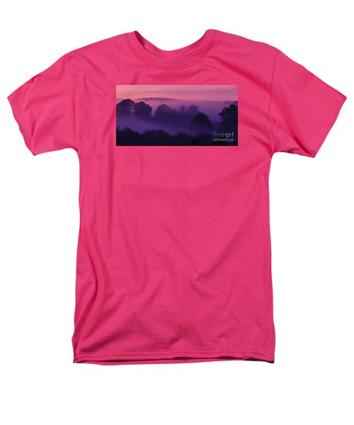 Misty Mountain Dawn Men's T-Shirt  (Regular Fit) by Thomas R Fletcher