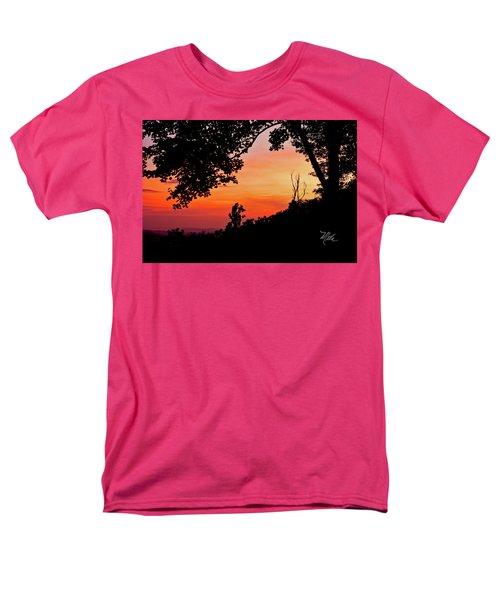 Men's T-Shirt  (Regular Fit) featuring the photograph Mountain Sunrise by Meta Gatschenberger