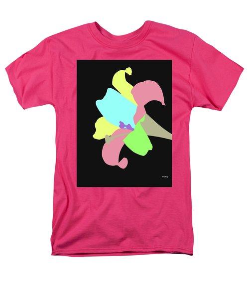 Men's T-Shirt  (Regular Fit) featuring the digital art Music Notes 13 by David Bridburg