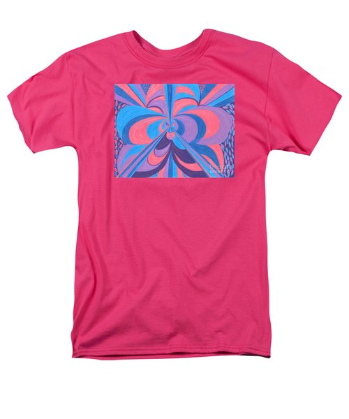 Men's T-Shirt  (Regular Fit) featuring the drawing Orchid by Kim Sy Ok