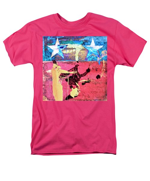 Men's T-Shirt  (Regular Fit) featuring the painting Patriot Act by Dominic Piperata
