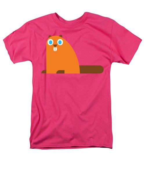 Pbs Kids Beaver Men's T-Shirt  (Regular Fit) by Pbs Kids