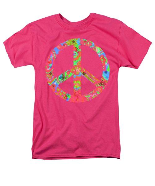 Men's T-Shirt  (Regular Fit) featuring the digital art Peace by Linda Lees