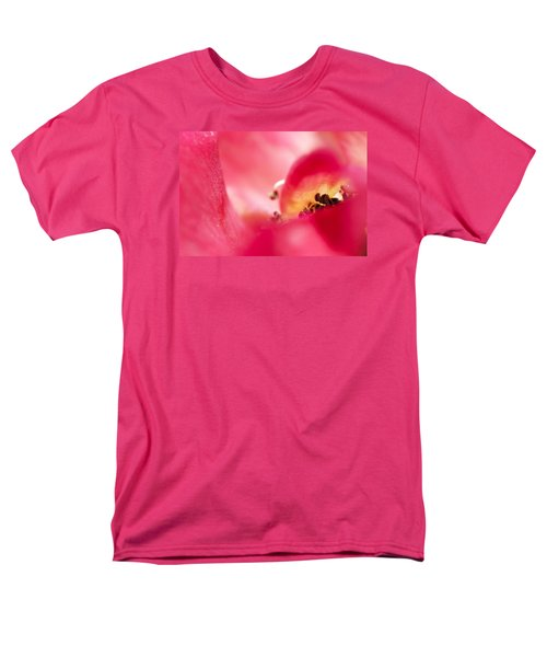 Men's T-Shirt  (Regular Fit) featuring the photograph Pink Blossom 3 by Dubi Roman