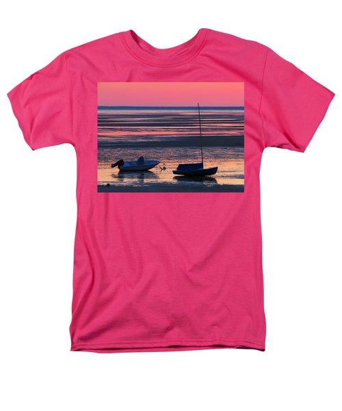 Men's T-Shirt  (Regular Fit) featuring the photograph Pink Dawn by Dianne Cowen