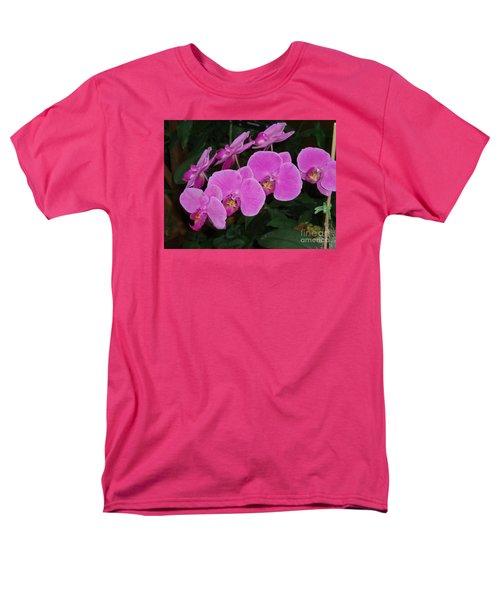 Pink Orchid Men's T-Shirt  (Regular Fit)