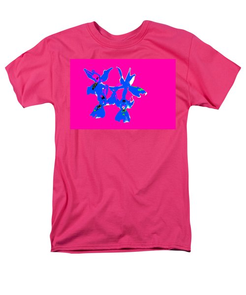 Pink Provence Orchid Men's T-Shirt  (Regular Fit) by Richard Patmore