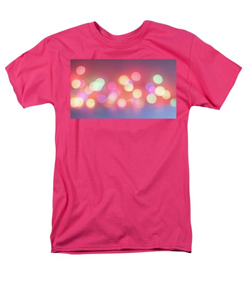 Pretty Pastels Abstract Men's T-Shirt  (Regular Fit) by Terry DeLuco