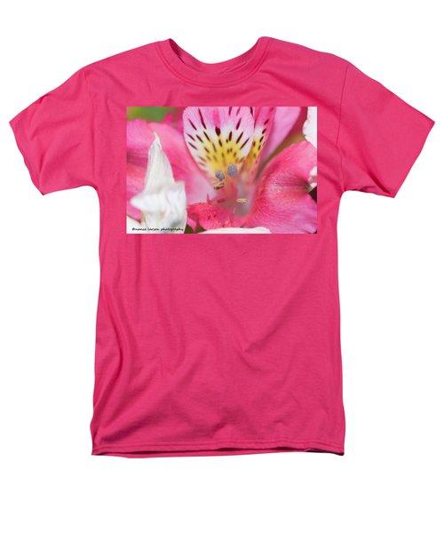 Pretty Pink Men's T-Shirt  (Regular Fit) by Nance Larson