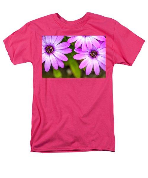 Purple Petals Men's T-Shirt  (Regular Fit) by Az Jackson