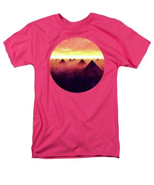 Pyramids At Sunrise Men's T-Shirt  (Regular Fit) by Phil Perkins