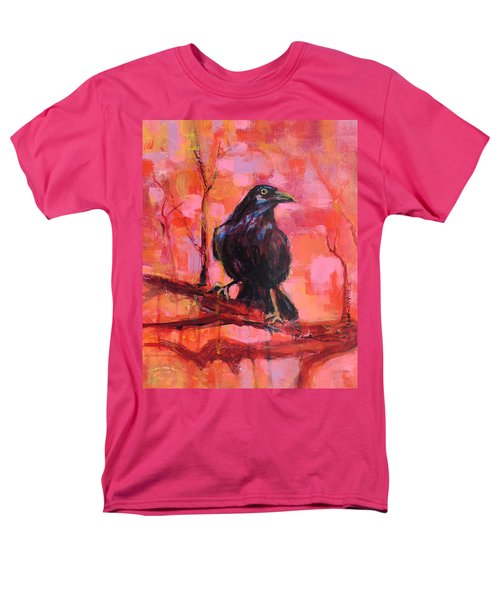 Raven Bright Men's T-Shirt  (Regular Fit) by Mary Schiros