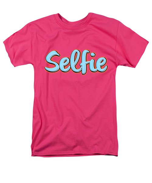 Selfie Tee Men's T-Shirt  (Regular Fit) by Edward Fielding