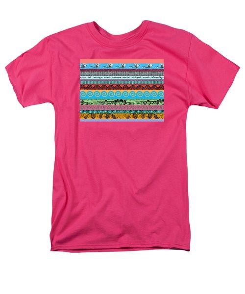 Sketchy Stripes Men's T-Shirt  (Regular Fit) by Stan  Magnan
