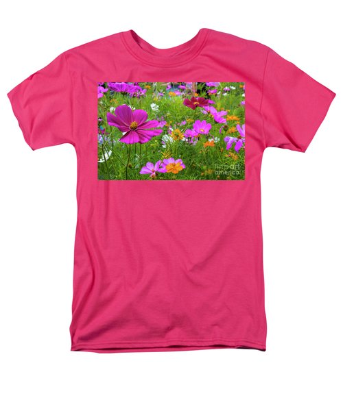 Summer Flower Garden Men's T-Shirt  (Regular Fit)
