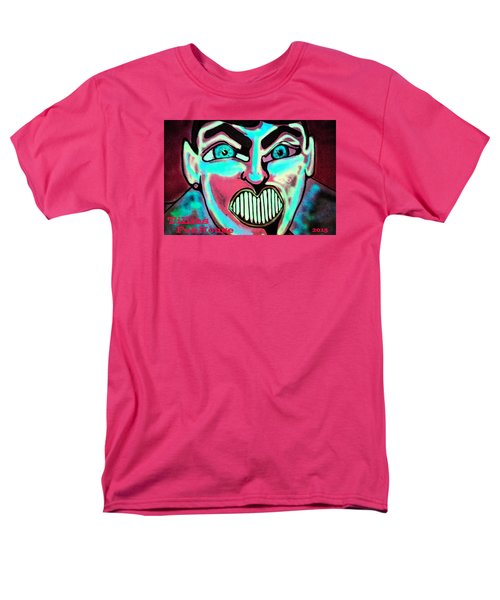 Men's T-Shirt  (Regular Fit) featuring the painting Super Tillie by Patricia Arroyo