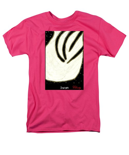 Men's T-Shirt  (Regular Fit) featuring the painting Swan by Clarity Artists
