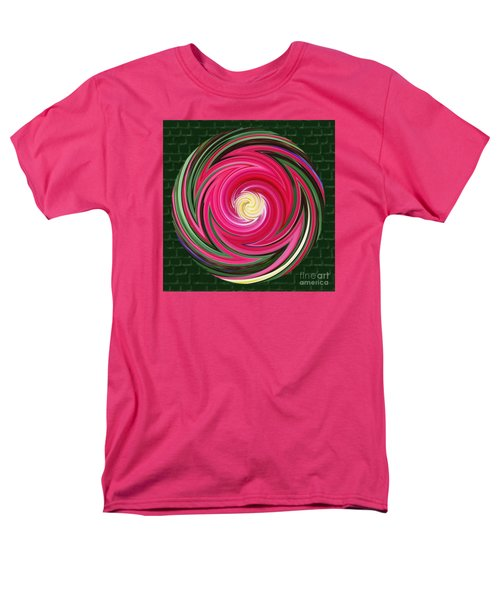 Men's T-Shirt  (Regular Fit) featuring the photograph Swirls Of Color by Sue Melvin