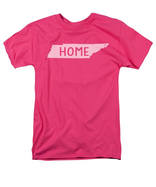 Men's T-Shirt  (Regular Fit) featuring the photograph Tennessee Home White by Heather Applegate