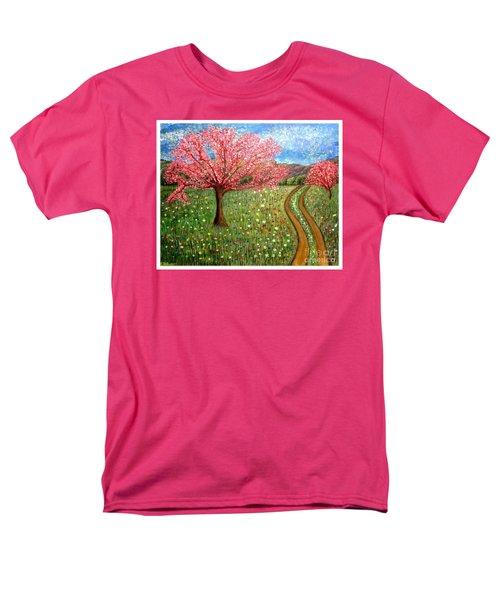 The Enchanted Fairy Garden Meadow Men's T-Shirt  (Regular Fit) by Kimberlee Baxter