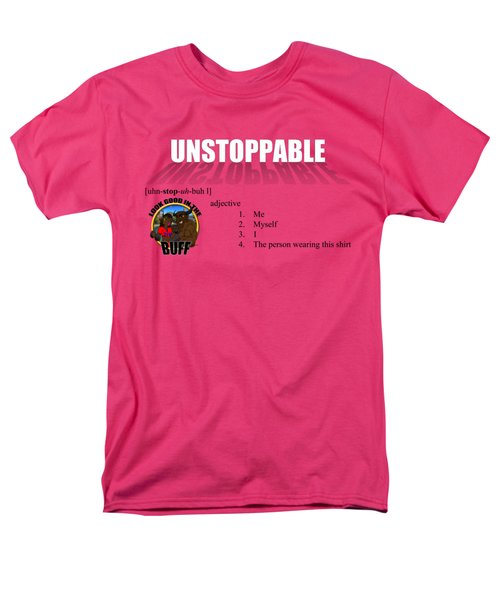 Unstoppable V1 Men's T-Shirt  (Regular Fit) by Michael Frank Jr