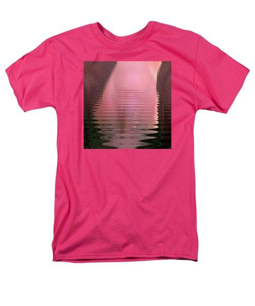 Men's T-Shirt  (Regular Fit) featuring the photograph Waves That Are Me by Carolina Liechtenstein