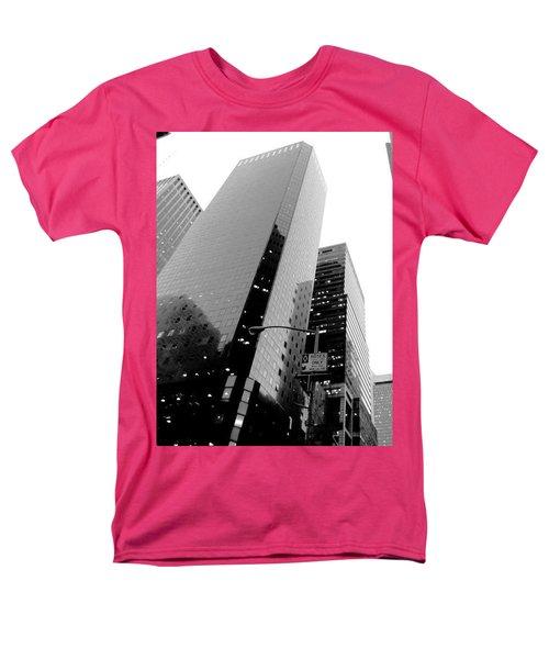 White And Black Inspiration  Men's T-Shirt  (Regular Fit) by Inga Kirilova