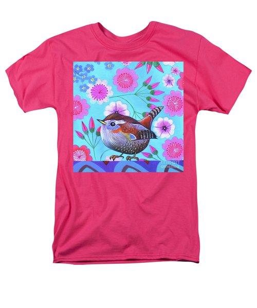 Wren Men's T-Shirt  (Regular Fit) by Jane Tattersfield