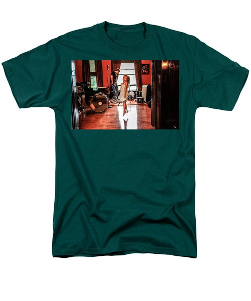 Brooklyn Dancing Men's T-Shirt  (Regular Fit) by Ray Congrove