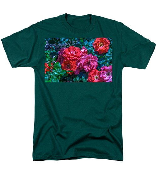 A Rose Is A Rose Men's T-Shirt  (Regular Fit) by Richard J Cassato