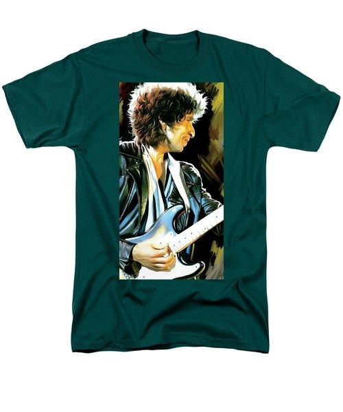 Bob Dylan Artwork 2 Men's T-Shirt  (Regular Fit) by Sheraz A