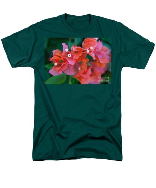 Bougainvillea Men's T-Shirt  (Regular Fit) by Roselynne Broussard