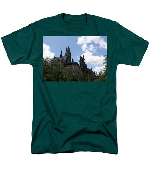 Hogwarts Castle Men's T-Shirt  (Regular Fit) by David Nicholls