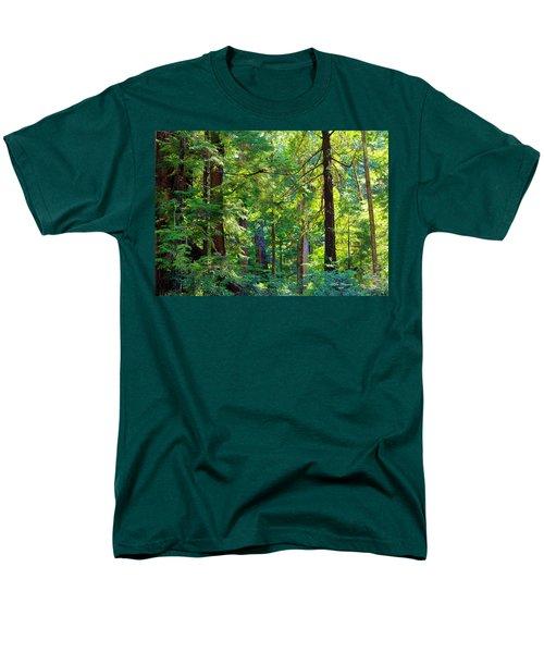 Hoh Rain Forest Men's T-Shirt  (Regular Fit) by Jeanette C Landstrom