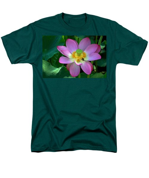 Men's T-Shirt  (Regular Fit) featuring the photograph Lotus Flower by Jerry Gammon