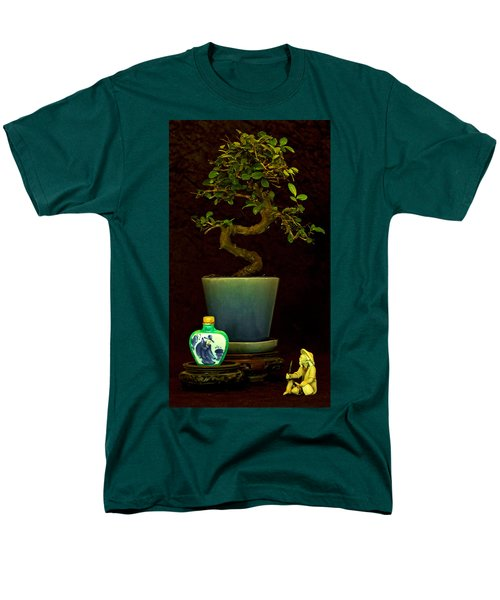 Old Man And The Tree Men's T-Shirt  (Regular Fit) by Elf Evans