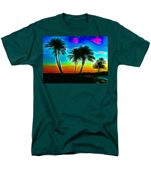 Men's T-Shirt  (Regular Fit) featuring the photograph Paradise by Tammy Espino