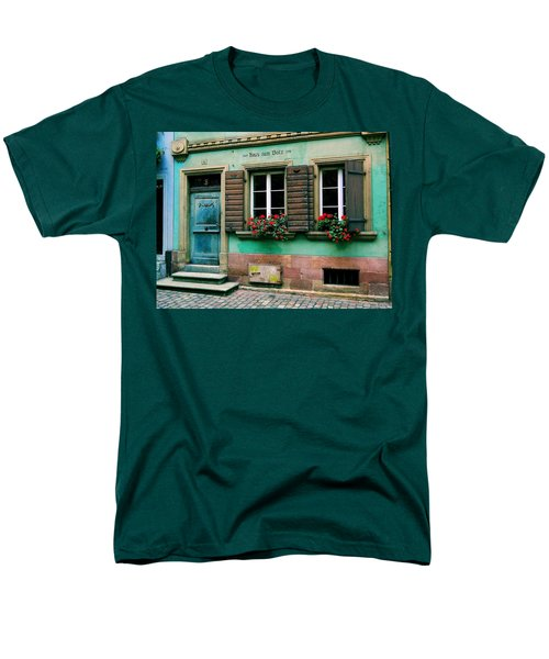 Men's T-Shirt  (Regular Fit) featuring the photograph Windows And Doors 6 by Maria Huntley
