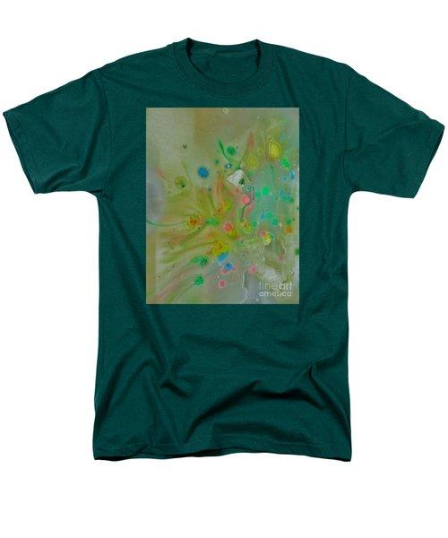 Men's T-Shirt  (Regular Fit) featuring the photograph A Bird In Flight by Robin Coaker