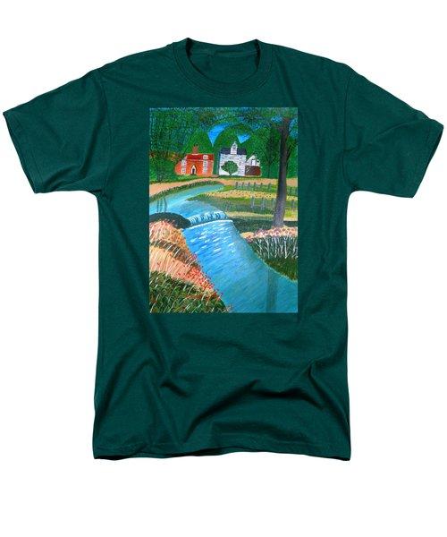A Country Stream Men's T-Shirt  (Regular Fit)